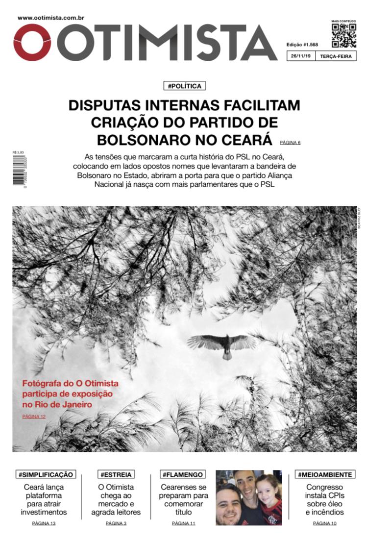 Edição impressa de 26/11/2019