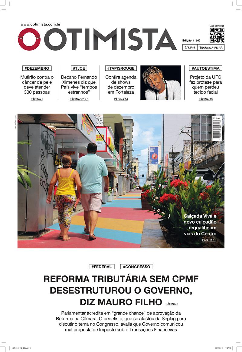 Jornal O Otimista - Versão impressa de 2/12/2019