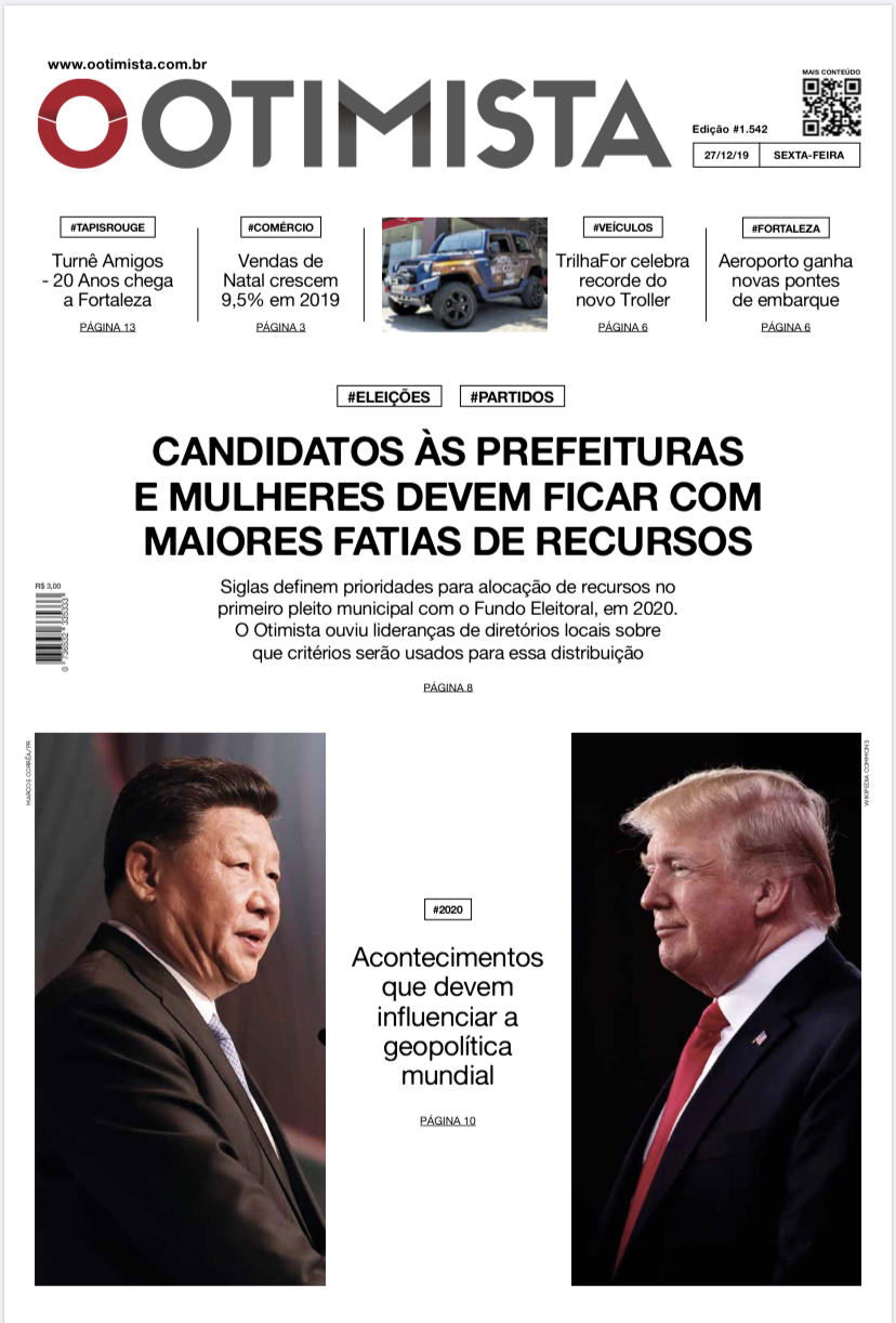 O Otimista - Edição impressa de 27/12/2019