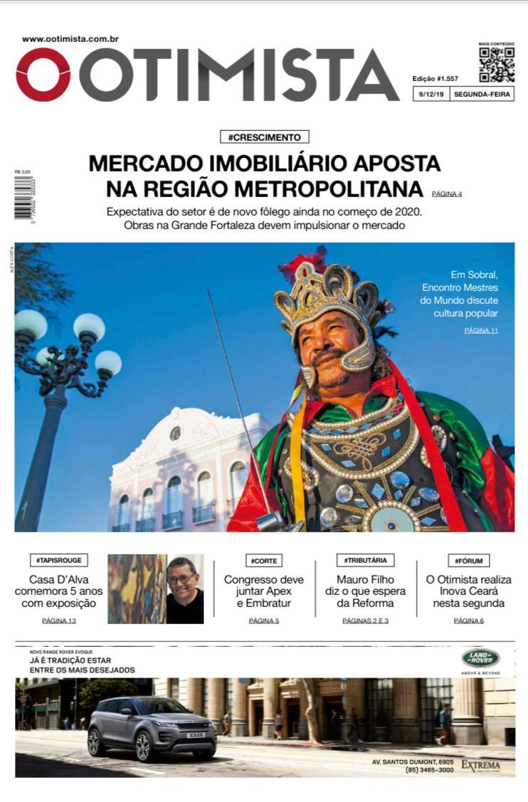 Jornal O Otimista - Segunda-feira (9/12) - Versão impressa