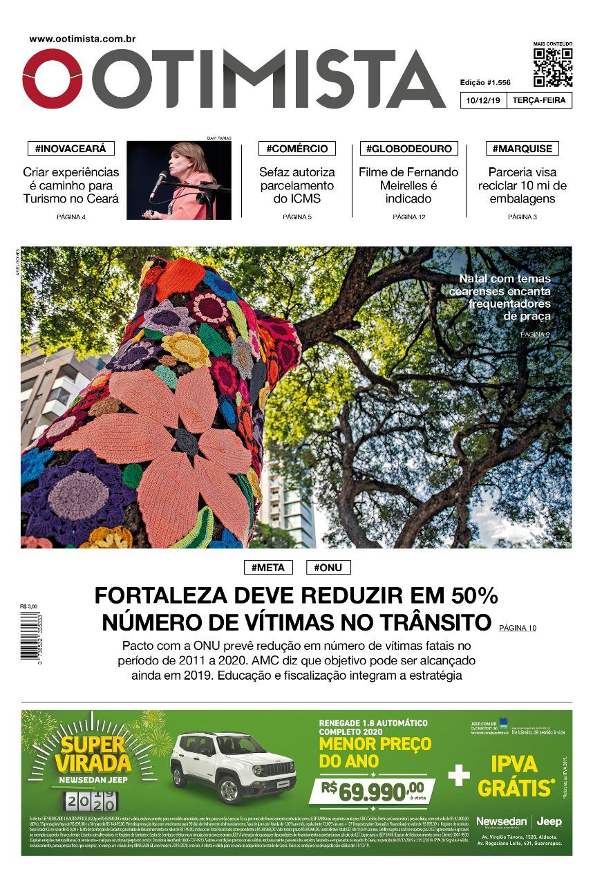 O Otimista - Edição impressa de 10/12/2019