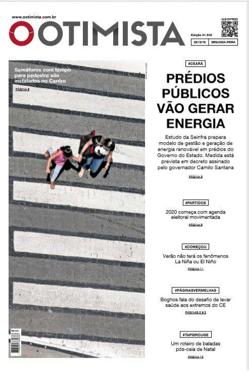 Jornal O Otimista - versão impressa 23/12