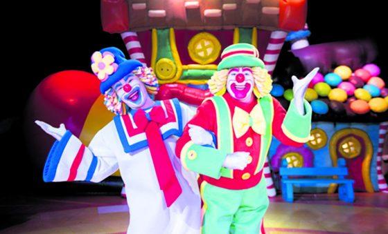 Atenção criançada, os circos chegaram!