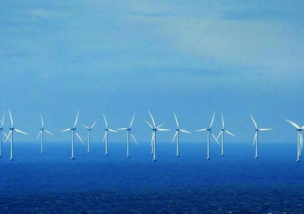 Energia eólica também em alto mar
