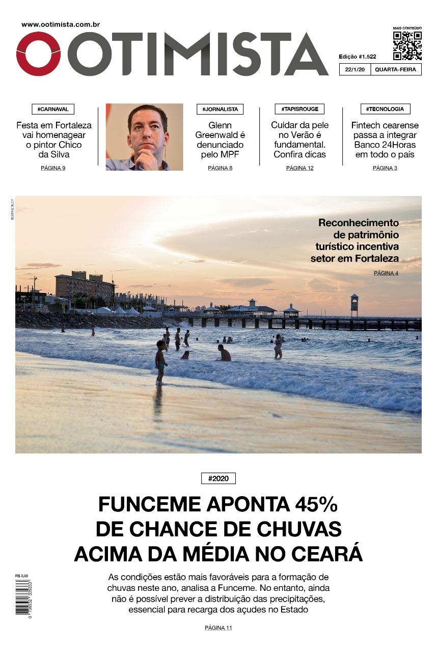 O Otimista - Edição impressa de 22/01/2020