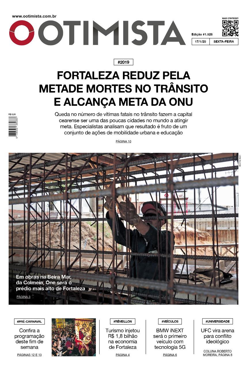 O Otimista - edição impressa de 17/01/2020