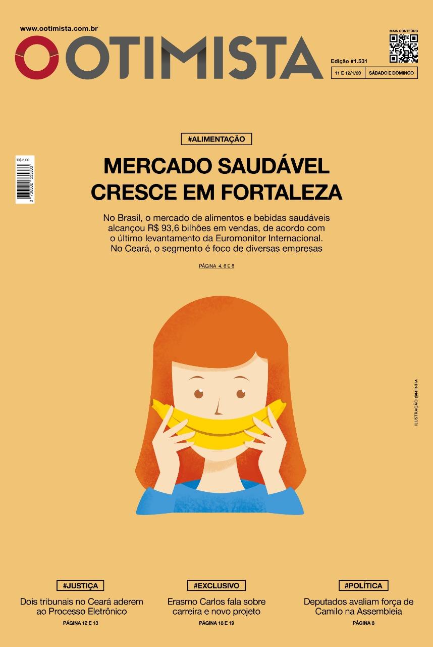 O Otimista – Edição impressa de 11 e 12/01/2020