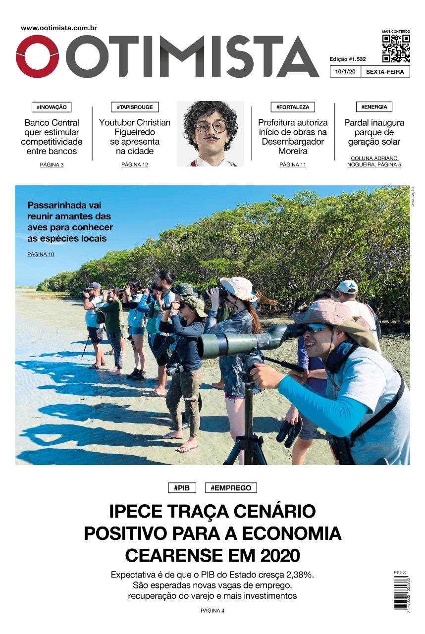 O Otimista - Edição impressa de 10/01/2020