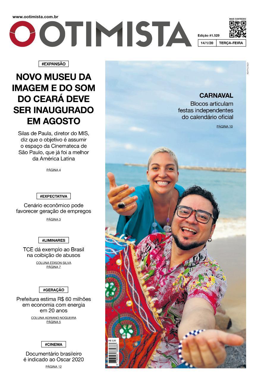 O Otimista - Edição impressa de 14/01/2020
