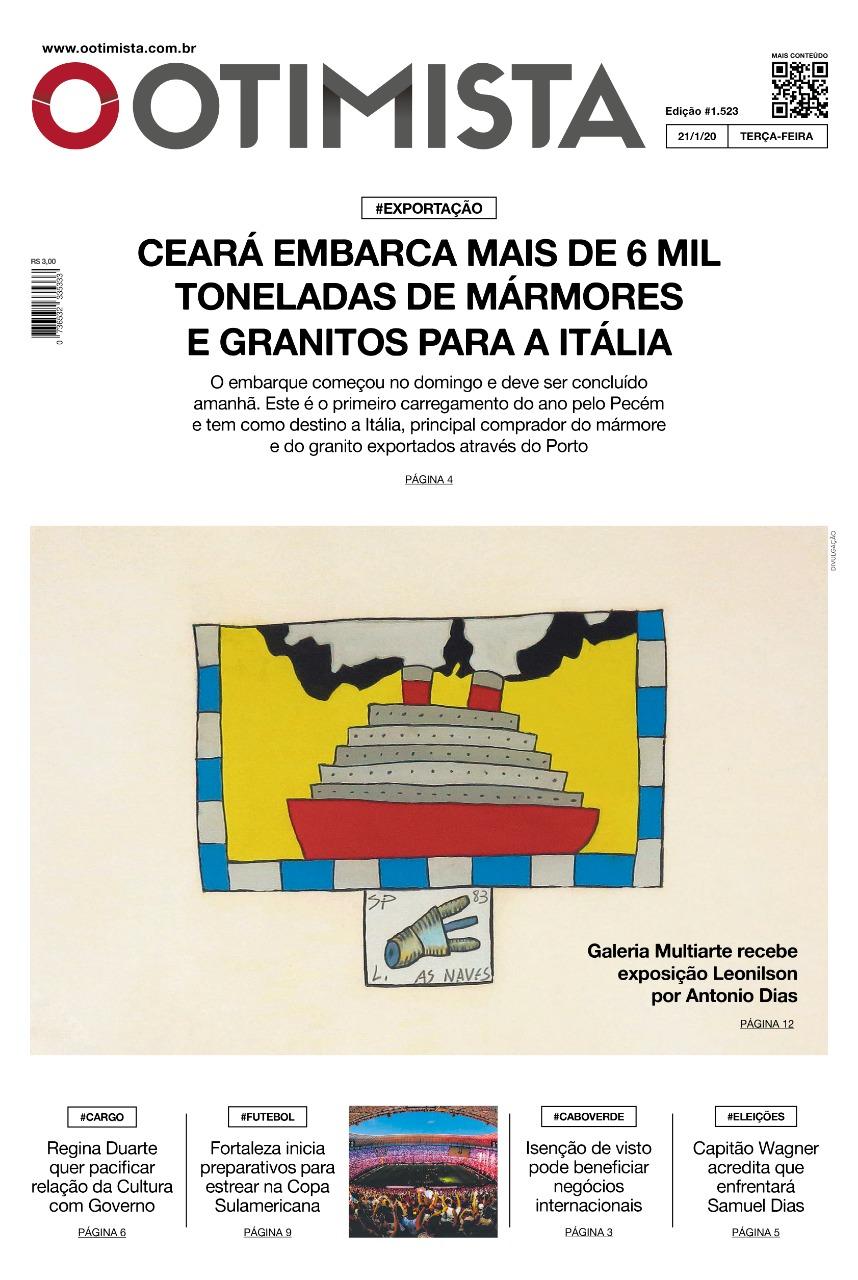 O Otimista - Edição impressa de 21/01/2020