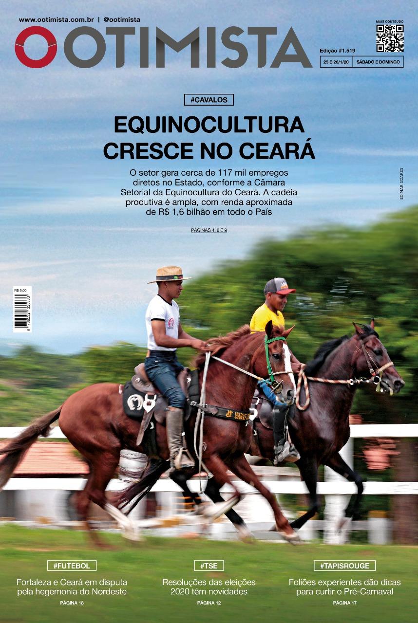 O Otimista - Edição impressa de 25 e 26/1/2020