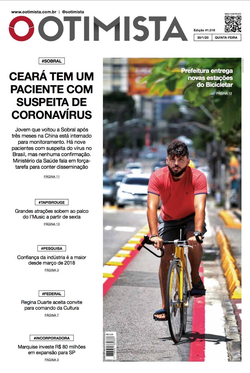 O Otimista - Edição impressa de 30/01/2020