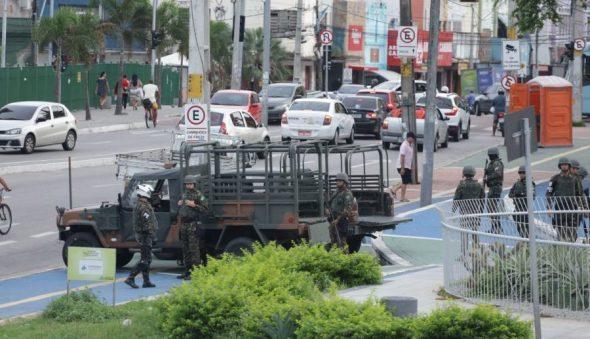 2.500 militares do Exército atuarão no Ceará