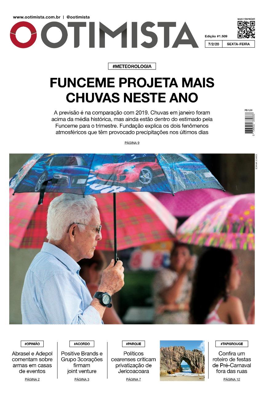 O Otimista - Edição impressa 07/02/2020