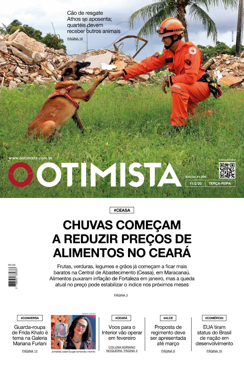 O Otimista - Edição impressa de 11/02/2020