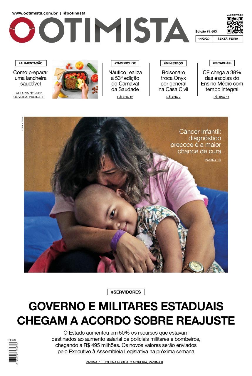 O Otimista - Edição impressa de 14/02/2020