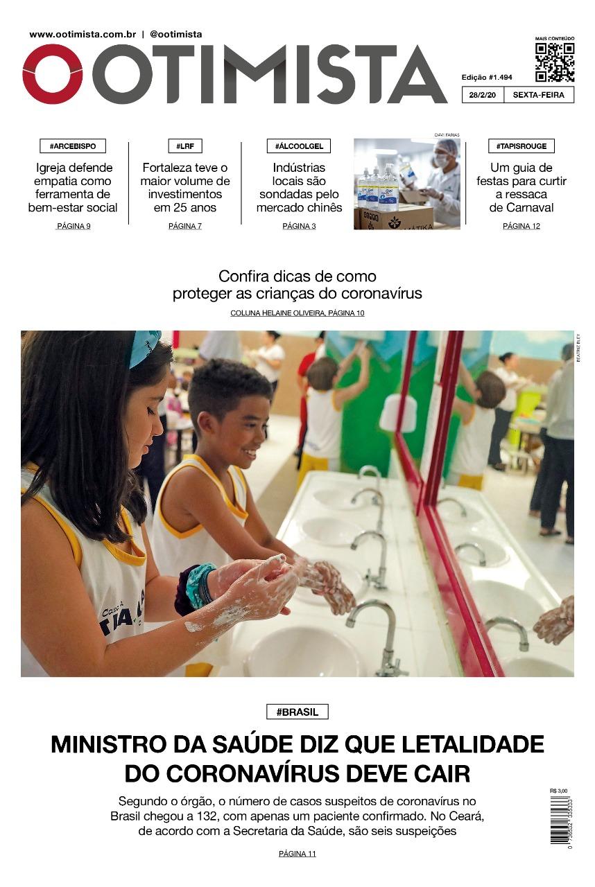 O Otimista - Edição impressa de 28/02/2020
