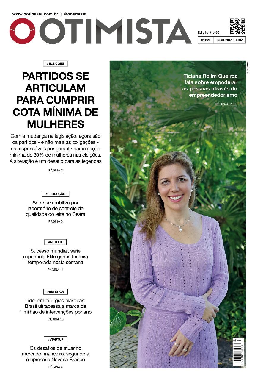 O Otimista - edição impressa de 9/3/2020