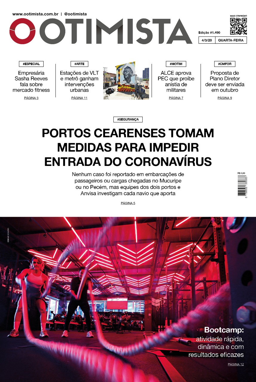 O Otimista - Edição impressa de 04/03/2020