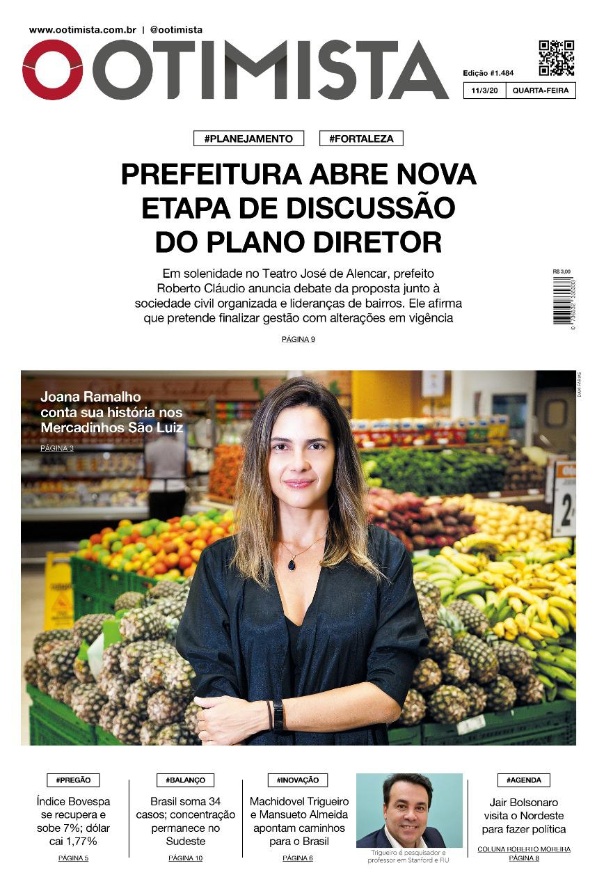 O Otimista - edição impressa de 11/03/2020
