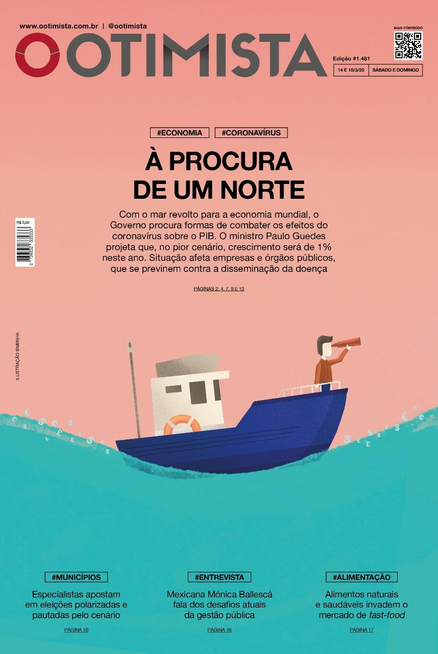 O Otimista – Edição impressa 14 e 15/03/2020