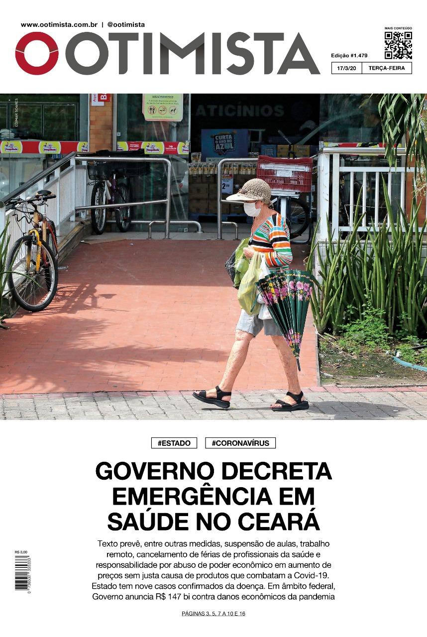 O Otimista - Edição impressa de 17/03/2020