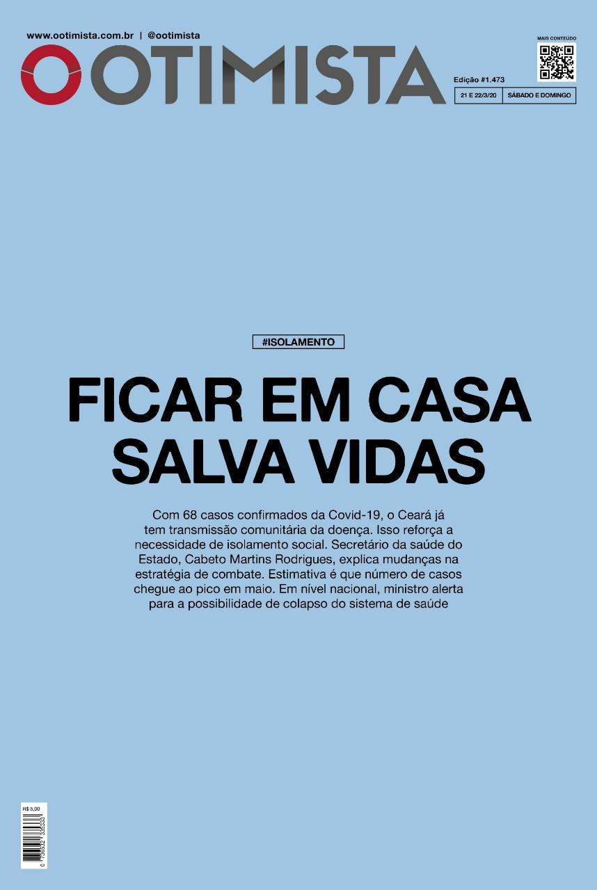 O Otimista - edição impressa de 21/2/2020