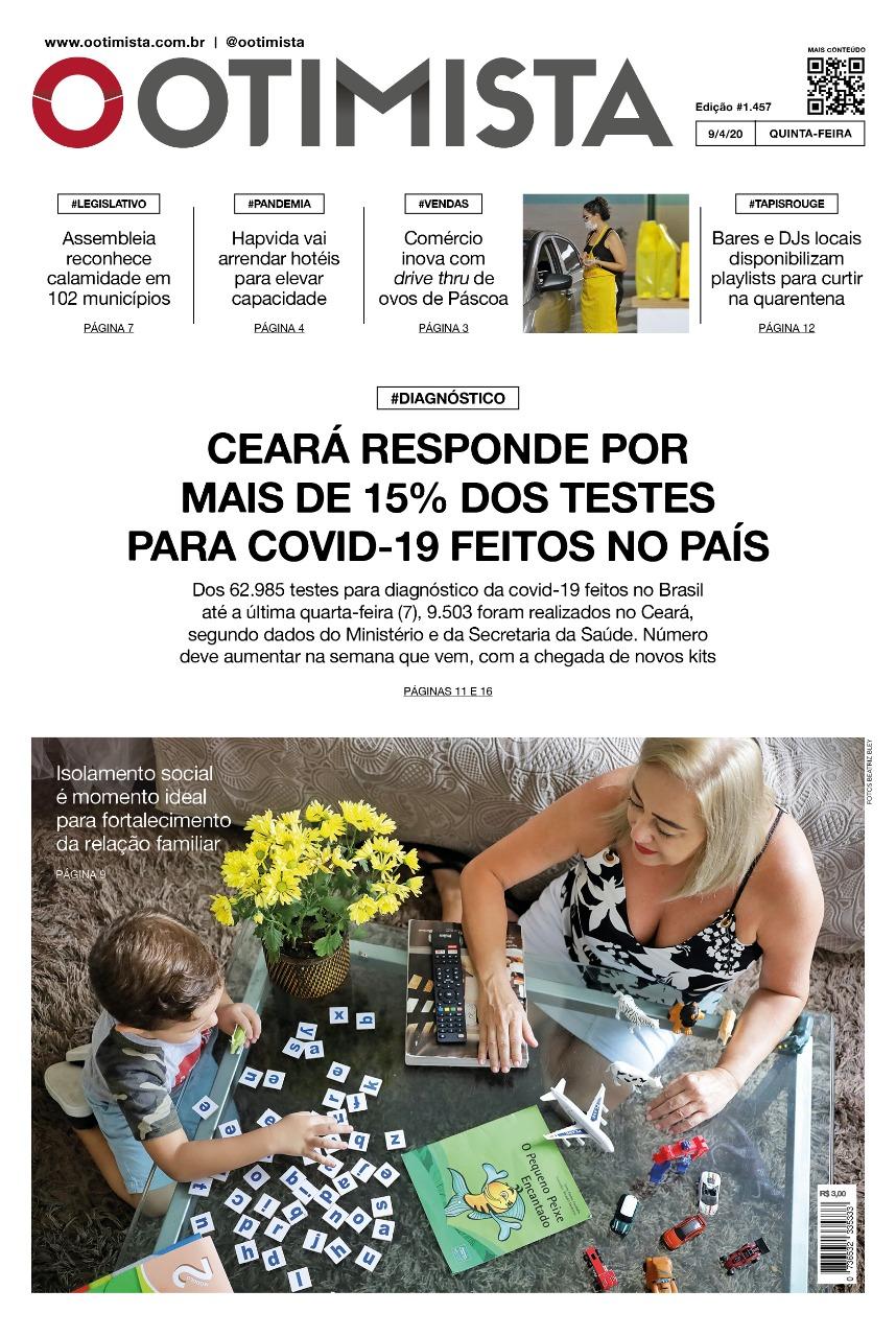 O Otimista - Edição impressa de  09/04/2020