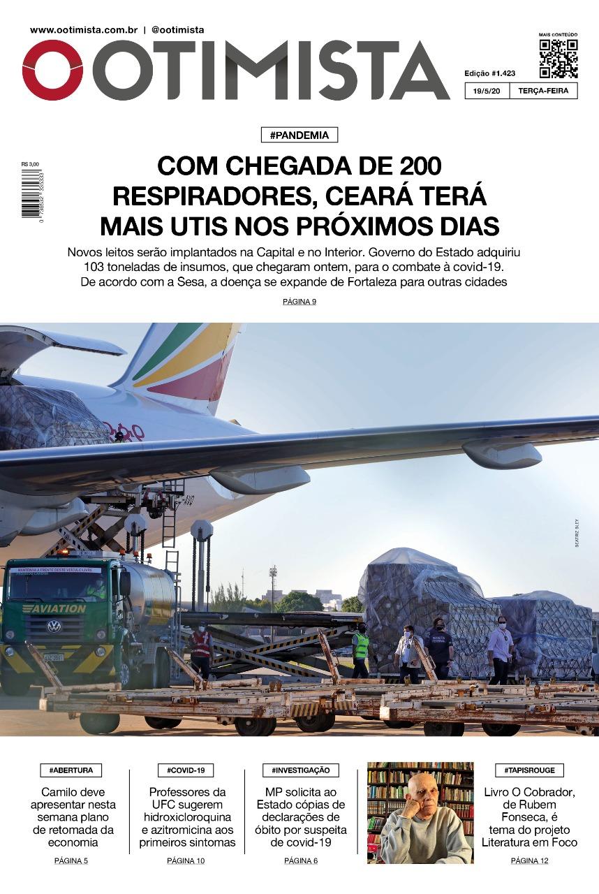 O Otimista - Edição impressa de 19/05/2020