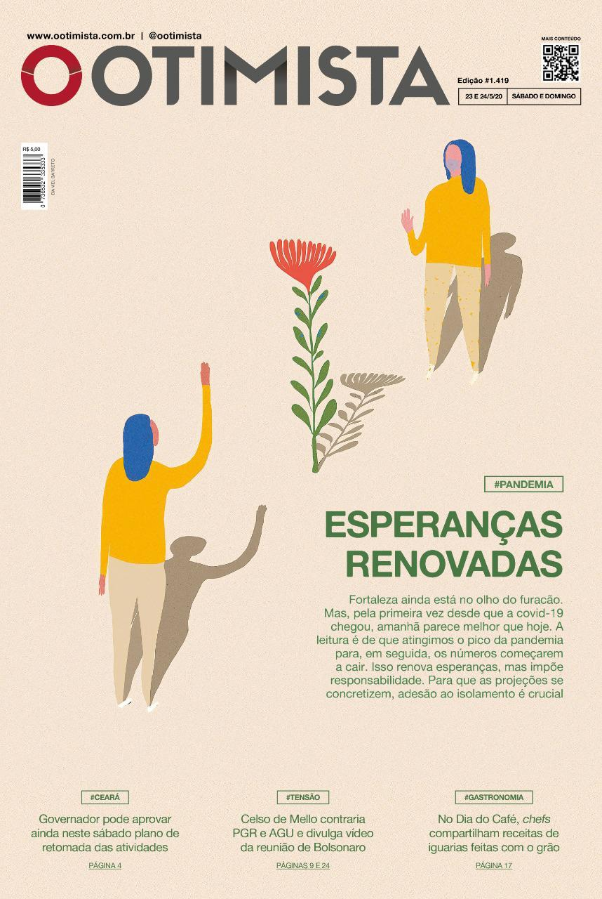 O Otimista - Edição impressa de 23 e 24/05/2020