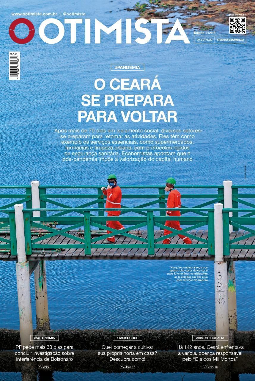 O Otimista - edição impressa de 30 e 31/05/2020