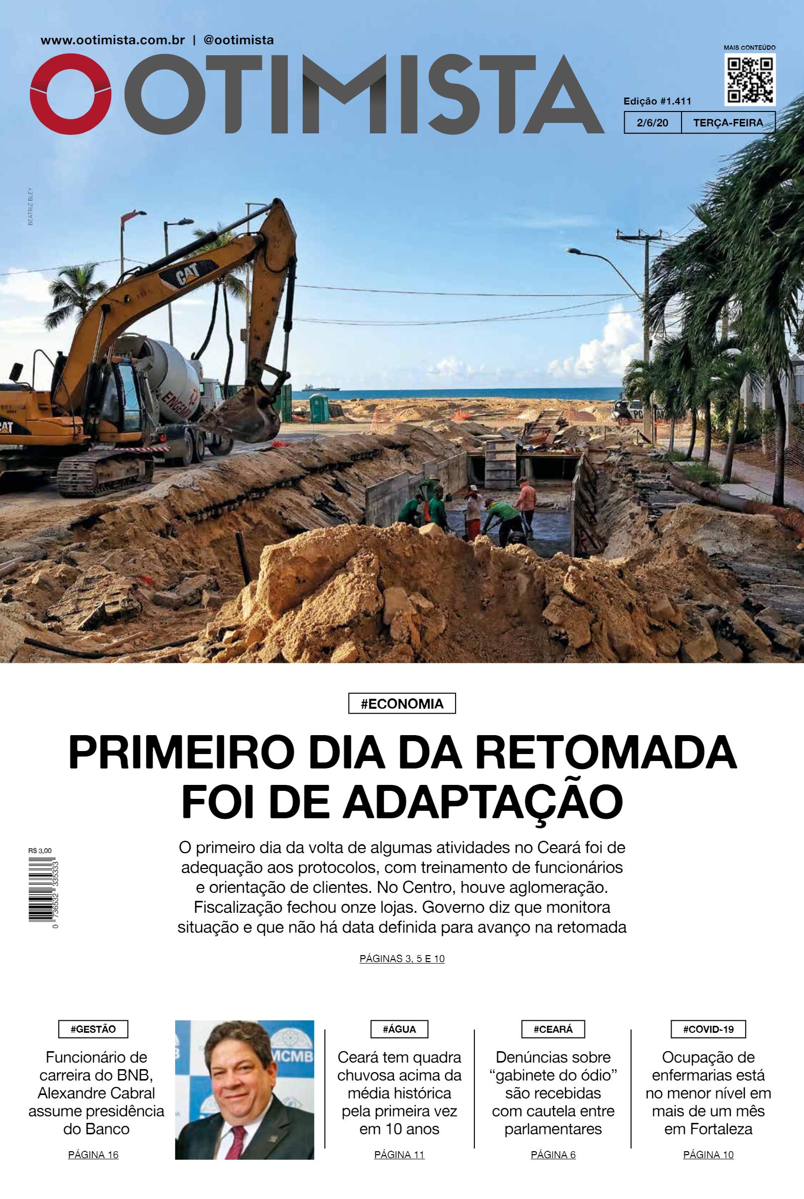 O Otimista – Edição impressa de 02/06/2020