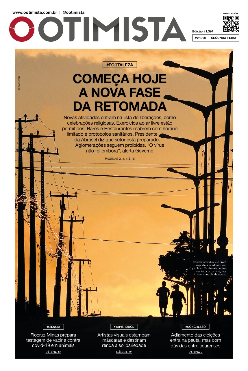 O Otimista - edição impressa de 22/6/2020