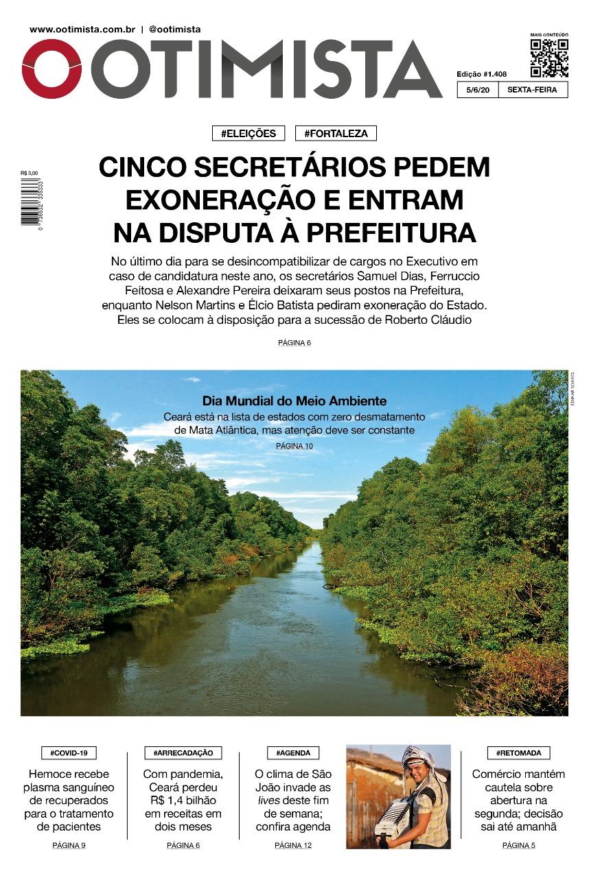 O Otimista - Edição impressa de 05/06/2020