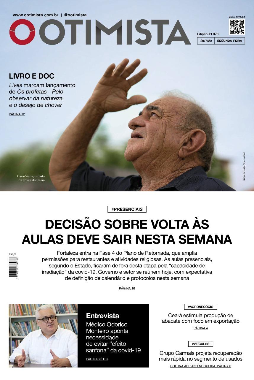 O Otimista - Edição impressa de 20/7/2020
