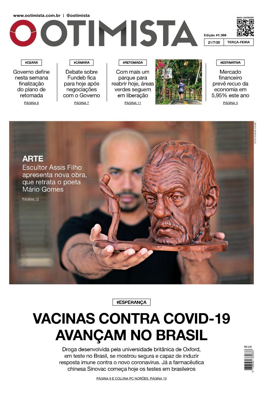 O Otimista - Edição impressa de 21/07/2020