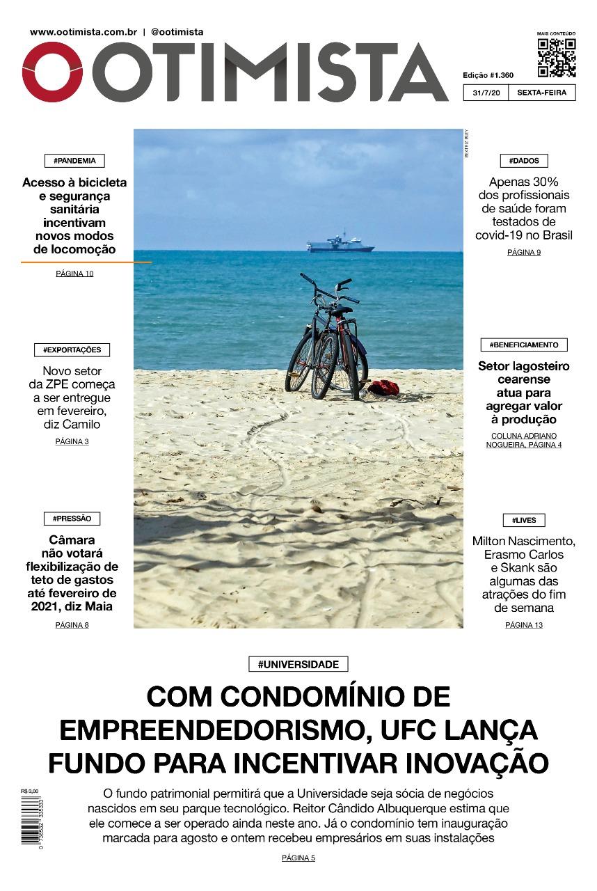 O Otimista - Edição impressa de 31/07/2020