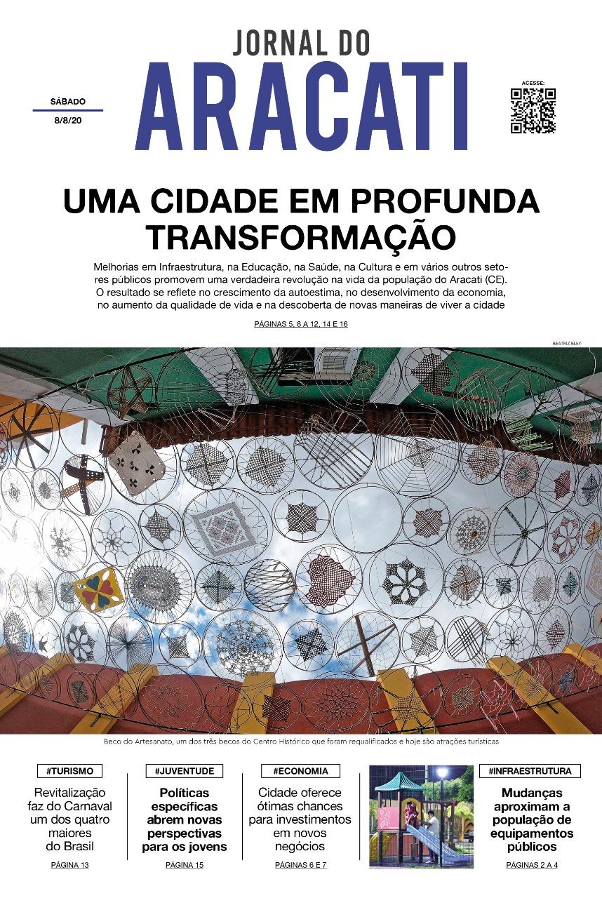 Jornal do Aracati - edição impressa de 8/8/2020