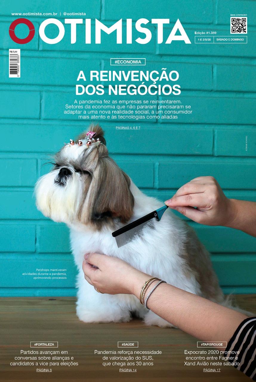 O Otimista - Edição impressa de 01/08/2020