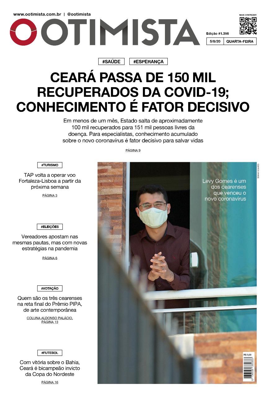 O Otimista - Edição impressa de 05/08/2020